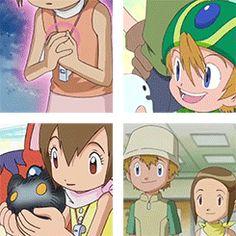 Digimon Digimon Adventure takeru takaishi Digimon Adventure 02 Hikari Yagami Takari crest of hope crest of light