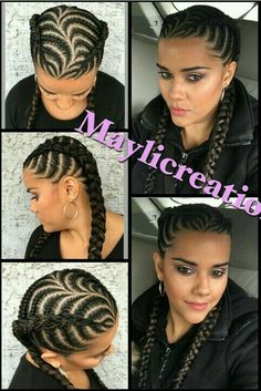 The Ancestral Braid Is Queen Of African Hairstyles Flat Twist Hairstyles, Braided Hairstyles, Protective Hairstyles, African Braids Hairstyles, Girl Hairstyles, Curly Hair Styles, Natural Hair Styles, Beautiful Braids, Braids For Black Hair
