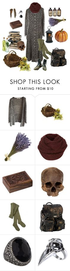 """WitchAutumn"" by zoja-hu on Polyvore featuring мода, French Country, Olive, Hansel from Basel, Roxy и Sevan Biçakçi"