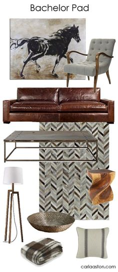 A Guy's Guide to Decorating Their Bachelor Pad — DESIGNED w/ Carla Aston