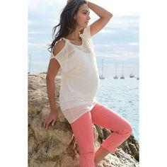 Hazel Cropped Maternity Jeans ($78) via Polyvore