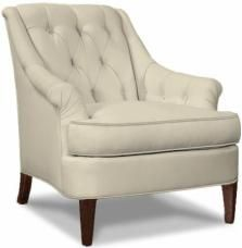 Marler Tufted Chair (Hickory Chair)