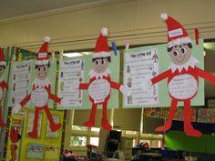 Classroom Fun: Elf on the Shelf Freebie