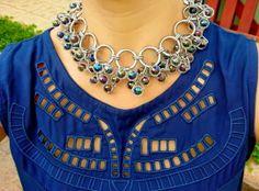 blog v@ LOOKS | por leila diniz: É NOVO E AINDA NÃO USEI (dia 4) com vestido novo hering lindo azul marinho