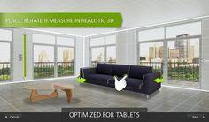 Návrh interiéru: Užitečné aplikace pro mobil a tablet - Mujsoubor.cz