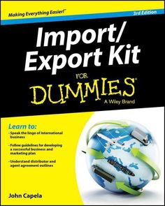 Your easy-to-follow primer on the exciting world of import/export With an increased focus on global trade, this new edition of Import/Export Kit For Dummies provides entrepreneurs and small- to mid-si