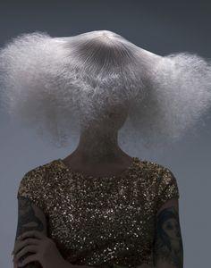 """Virtuosity"" Hair/Concept/Photography: Damien Carney  Hair Colorist: Sue Pemberton Make Up: Sally Wang Wardrobe: Mike Wanemacher Nails: Karen Gutierrez Model: Echo Nittolitto"