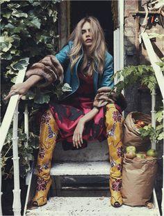 Cara Delevingne for Vogue Australia