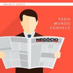 Anuncie na mídia que todo interior de minas conhece: Jornal Negócio Fechado.  O maior vendedor do Vale do Aço.