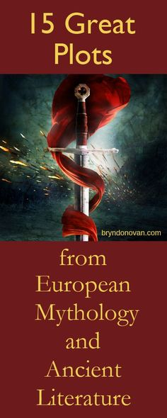 15 Plots from European mythology, ideas, inspiration