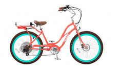 Ped a go electric assist bike with step-through frame.  I can dream.