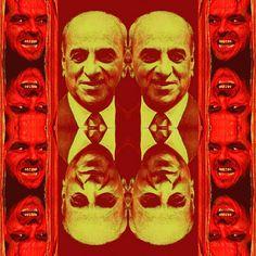 "Serie ""Jack presents the brazilian sociopaths"", N.o 4  Journalist and Entrepreneur Telecommunications   Roberto Pisani Marinho (Born 06/12/1904 - Hell: 06/08/2003). #artedigital #digitalart #appprisma🔺 #applayout #Brasil #brazil"