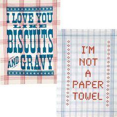 love those kitchen towels
