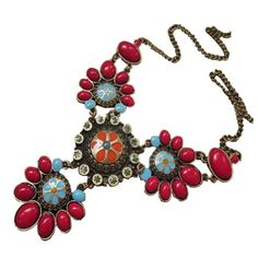 CA Fashion Vintage Flower Jewelry Sweater Chain Necklace Bohemian Style Pendant CA Fashion,http://www.amazon.com/dp/B00EOK39UK/ref=cm_sw_r_pi_dp_rOGgtb1H6K2GNCJB