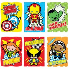 Marvel Kawaii Art Collection Stickers | More Marvel Stuff Than I Can Afford