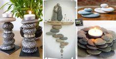 Creazioni originali con i sassi! 20 idee per ispirarvi…