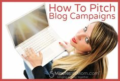 How To Pitch Blog Campaigns To Brands - #WorkAtHome Moms Strategy Hour