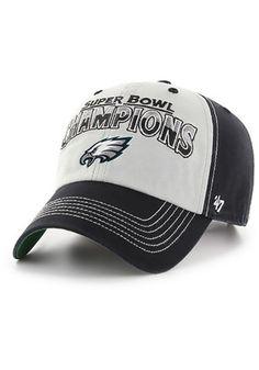 7593da5345ea68 Philadelphia Eagles Mens Kelly Green 2018 Super Bowl Champion McGraw Clean  Up Adjustable Hat