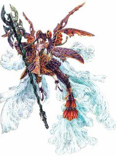 Corrupt Emperor Mateus - Final Fantasy Tactics Advance