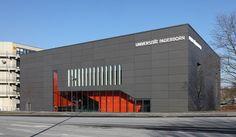 Paderborn University by Gerber arch. EQUITONE #facade #materials. www.equitone.com