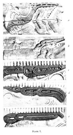 Journal of the Polynesian Society: Evolution Of Certain Maori Carving Patterns, By Gilbert Archey, P Ancient History, Nz History, Maori Patterns, Maori Art, Easter Island, Fashion Books, British Museum, Sculpture Art, Evolution