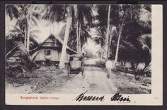 MALAY VILLAGE KAMPONG c1906                      THE LIBYAN Esther Kofod www.estherkofod.com