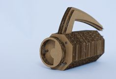 cardboard Model - this would suit so many different products! Just layer pieces to build them up.