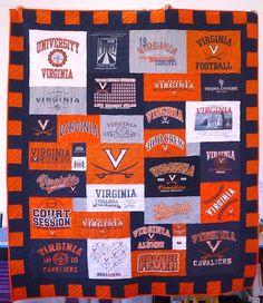 I want this for my graduation!! I have so many uva t-shirts!