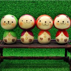 Little Bear Kokeshi ~ So cute!