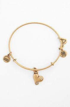 Alex And Ani Cupid S Heart Expandable Wire Bangle