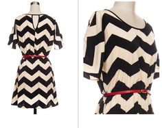 Chevron dress -Get it at www.facebook.com/anjboutique. Don't forget to LIKE & SHARE our page to keep up with our sales events!