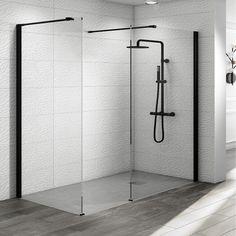 14 best black shower enclosure images bathroom ideas shower cabin rh pinterest com oyster fusion black shower cabin