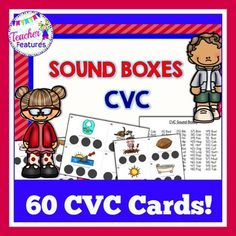 Phonemic Awareness: CVC Sound Boxes build phonemic awareness and phonological awareness skills by segmenting words into individual sounds, or phonemes. To use Sound Boxes, a child listens to a word and moves a token into a box for each sound (phoneme).Students build phonemic awareness and phonological awareness by segmenting words into sounds or syllables (which is not always the number of letters).1.