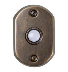 Round Horizontal Doorbell Button, $18.