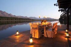 7 off the beaten track lodges near Cape Town. Boutique retreats & nature or game lodges less than 3 hours from Cape Town. By Cedarberg Africa Wedding Locations, Wedding Venues, Fresco, Clifton Beach, Boutique Retreats, Cape Town Hotels, Wedding Book, Wedding Cape, Wedding Dinner