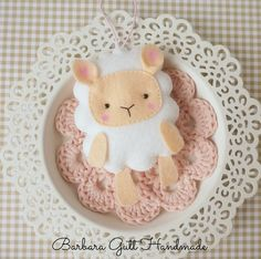 Barbara Handmade...: Felt for Easter