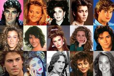 Did you have big hair in the 80s or do you just love 80s hairstyles? Here are some awesome celebrity hairstyles from the 80s.