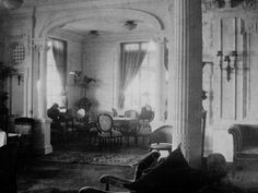 Titanic reading and writing room