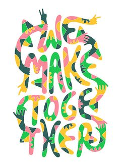 Creative Typography by Tim Easley | Inspiration Grid | Design Inspiration