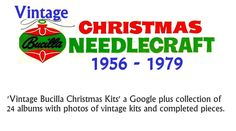 I have created a photo gallery to share with collectors and fans of Bucilla Christmas needlework kits. I particularly like the simpler designs of the 1950s, 1960s and 1970s, so those are the years I chose to research. Each album contains kits produced that year. A database or sorts for felt and sequin enthusiasts!