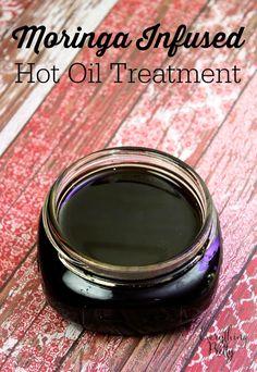 Moringa Infused Hot Oil Treatment For Hair Recipe