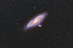 M31, M32 and M110 the Andromeda galaxy | by Steven Coates…
