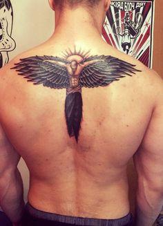 Angel tattoos on back - #Angel #tattoos