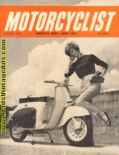 1964 January Motorcyclist Motorcycle Magazine Back-Issue