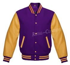 online shopping for Premium New Letterman Baseball College School Varsity Jacket Wool Real Leather from top store. See new offer for Premium New Letterman Baseball College School Varsity Jacket Wool Real Leather Leather Sleeve Jacket, Gold Jacket, Leather Jackets, Urban Fashion Girls, Black Girl Fashion, Mens Fashion, Fashion Outfits, Jackets Fashion, Fashion Kids