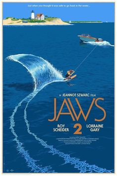 Laurent Durieux poster - Jaws 2