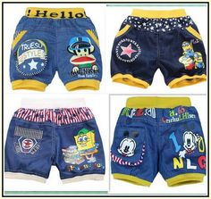 Toddler Boy Shorts Adjustable Waist