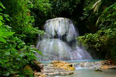 The breath-taking beauty of level 5 of Aguinid Falls