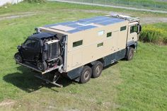 Unicat - Can you carry a BRP Commander behind your Expedition Vehicle? Yes you can!! We are modifying 3 of them and will do one more in the january. We shorten them from appr. 3 meters to 2.54 m which allows us to carry them sideways. We change tire size, wheelbase and we articulate the rear platform for transportation. We also have a space for a spare wheel under the platform. Overland Truck, Overland Trailer, Expedition Vehicle, Off Road Camper, Truck Camper, Motorhome, Hunting Truck, Offroader, Adventure Campers