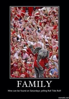 ALABAMA FOOTBALL!!  Roll Tide!